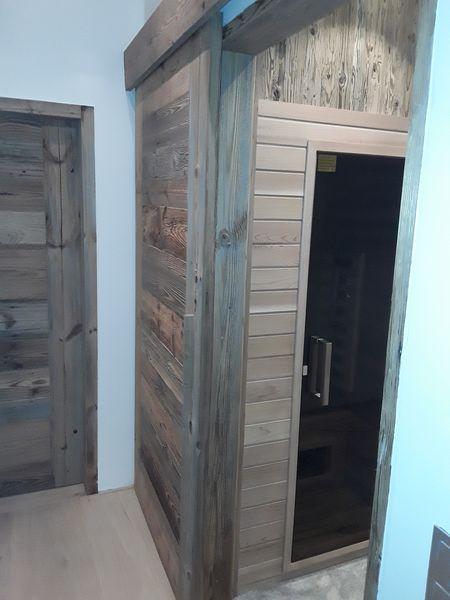 Sondereinbau Sauna